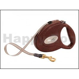 FLEXI Leather (M) Brown (do 25kg, 5m pásek)