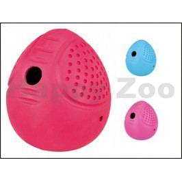 Hračka TRIXIE guma - vejce na pamlsky 8cm (MIX BAREV)