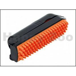 Skládací váleček TRIXIE na odstranění chlupů + gumový kartáč (2v