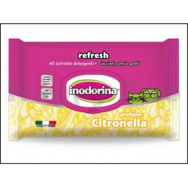 Čistící ubrousky INODORINA citrus (40ks)