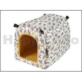 Iglu pro hlodavce O´LALA PETS myška 35x25x25cm (bez karabin)