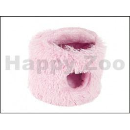 Pelíšek pro hlodavce O´LALA PETS Tin růžový 23cm
