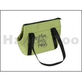 Taška O´LALA PETS Economy 25x40x30cm zelená