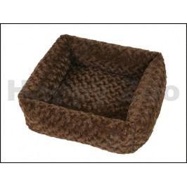 Pelech O´LALA PETS Cube 53x53cm hnědý