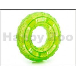 Hračka JK guma TPR - kruh zelený 12cm