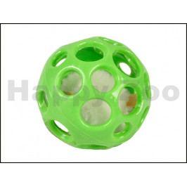 Hračka pro kočky FLAMINGO - míček s mikročipovou myší 7cm