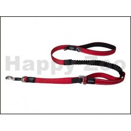 Vodítko ROGZ Control Lead HLOC 16 Long C-Red (XL) 2,5x120cm