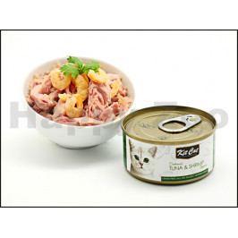 Konzerva KIT CAT Tuna & Schrimp 80g