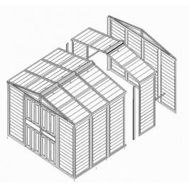 DURAMAX Prodlužující modul pro garáž WoodBridge Garage 04082