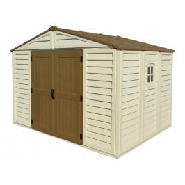 DURAMAX Zahradní domek Duramax WoodBridge Plus 7,6m2 + podlahová konstrukce (model 40214 -10,5x8´)