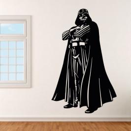 Darth Vader ze StarWars - vinylová samolepka na zeď 80x50cm