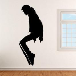 Michael Jackson na špičkách - vinylová samolepka na zeď 200x76cm