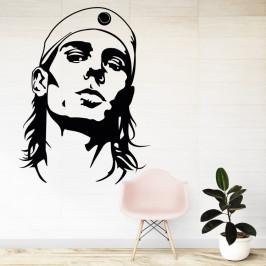 Rafael Nadal tenista - vinylová samolepka na zeď 132x100cm