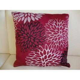 Polštář Cushion PI068 růžový s květy