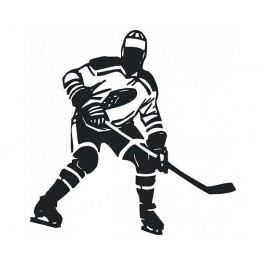 Samolepící dekorace Hokejista
