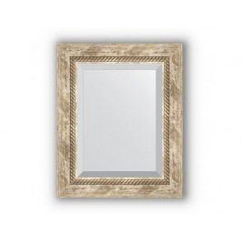 Zrcadlo s fazetou, provensálský dekor s krouceným detailem