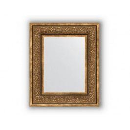 Zrcadlo v rámu, bronzový monogram