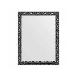 Zrcadlo černé stříbro, 70x90 cm