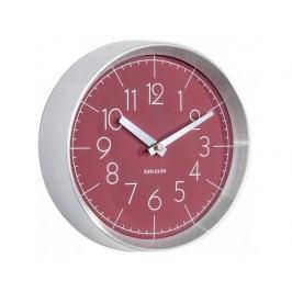 Designové nástěnné hodiny 5637RD Karlsson 22cm