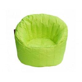 Zářivě limetkový sedací vak BeanBag Lumin Chair