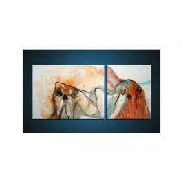 Vícedílné obrazy - Zlomené barvy