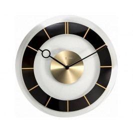 Designové nástěnné hodiny 2790zw Nextime Retro Black 31cm