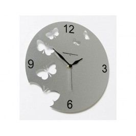 Designové hodiny D&D 201 Meridiana, stříbrný lak