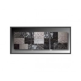 Obrazový set - Černá abstrakce
