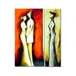 Moderní obraz - Sama a s Tebou
