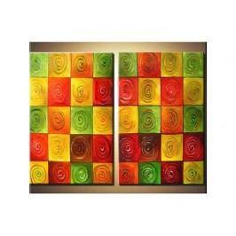 Obrazový set - Barevné čtverce