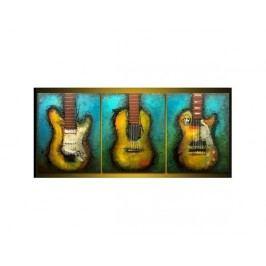 Vícedílné obrazy - Kytary