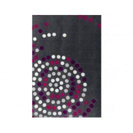 Deka Puntík šedá-růžová 9346