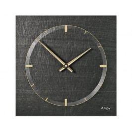 Designové nástěnné břidlicové hodiny 9516 AMS 30cm
