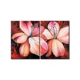 Obrazový set - Růžové květy