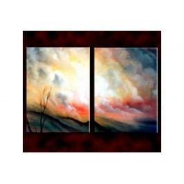 Vícedílné obrazy - Za mraky