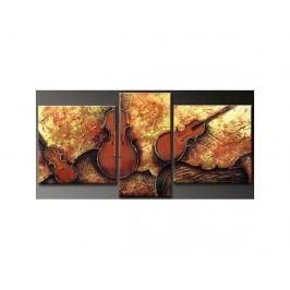 Vícedílné obrazy - Housle