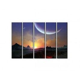 Vícedílné obrazy - Měsíce