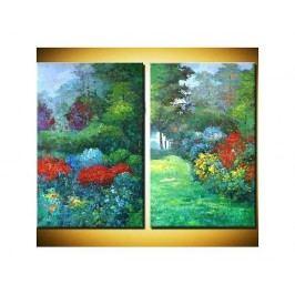 Obrazový set - Barevná zahrada