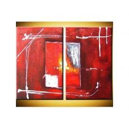 Obrazový set - Rudé snění
