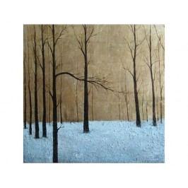 Obraz - Les v zimě