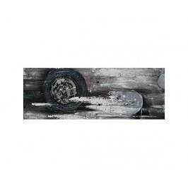 Moderní šedočerný obraz
