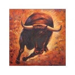 Obraz - Běžící býk