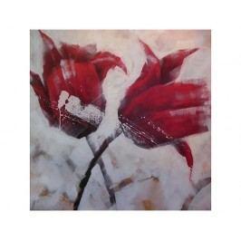 Obraz - Dva červené květy