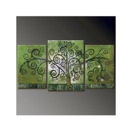 Vícedílné obrazy - Strom v zelené