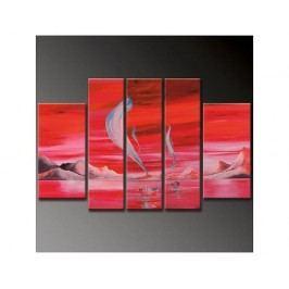 Vícedílné obrazy - Plavba jitrem