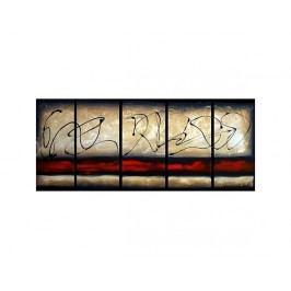 Vícedílné obrazy - Podpis na zdi