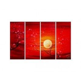 Obrazový set - Růdý západ slunce