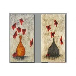 Obrazový set - Vadnoucí květy