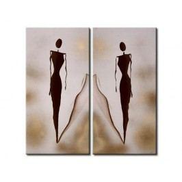 Obrazový set - U zrcadla