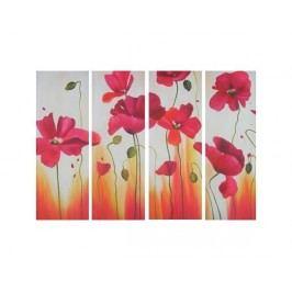 Obrazový set - Květy vlčích máků